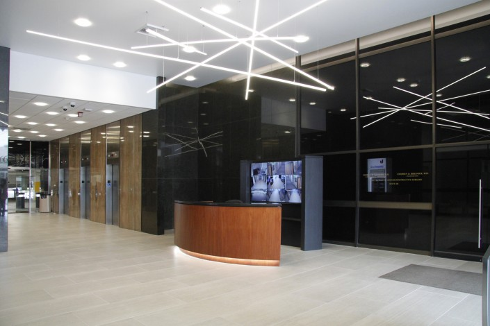 Lobby to the Encino Executive Tower