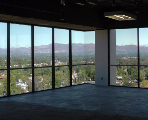 Office space with amazing views of Los Angeles