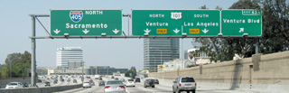 The 405 and 101