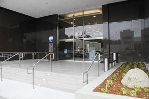 entrance to executive tower
